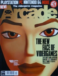 Arcade: issue 1 cover