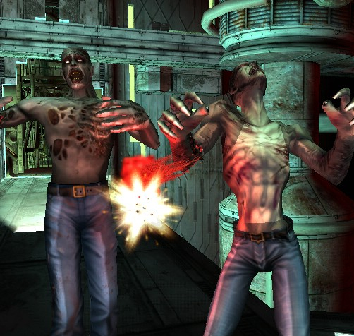 The house of the dead 3 third time unlucky games asylum for Housse of the dead