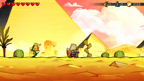 Wonder Boy The Dragon's Trap (5)