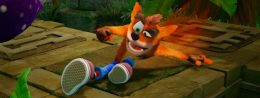 Crash Bandicoot keeps Splatoon 2 at bay