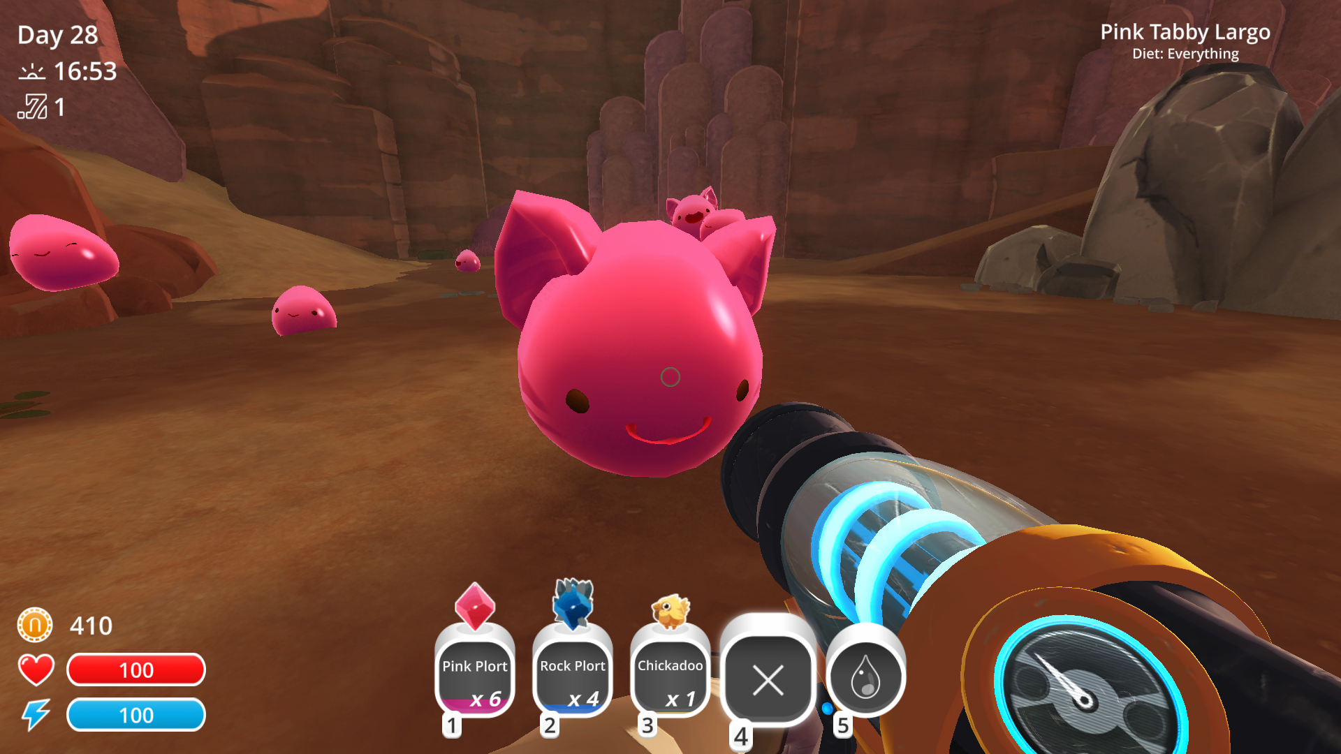 Slime rancher review games asylum the game world is one thats fully alive complete with a day and night cycle wild plants that regenerate over time and hapless feral slimes of varying ccuart Image collections