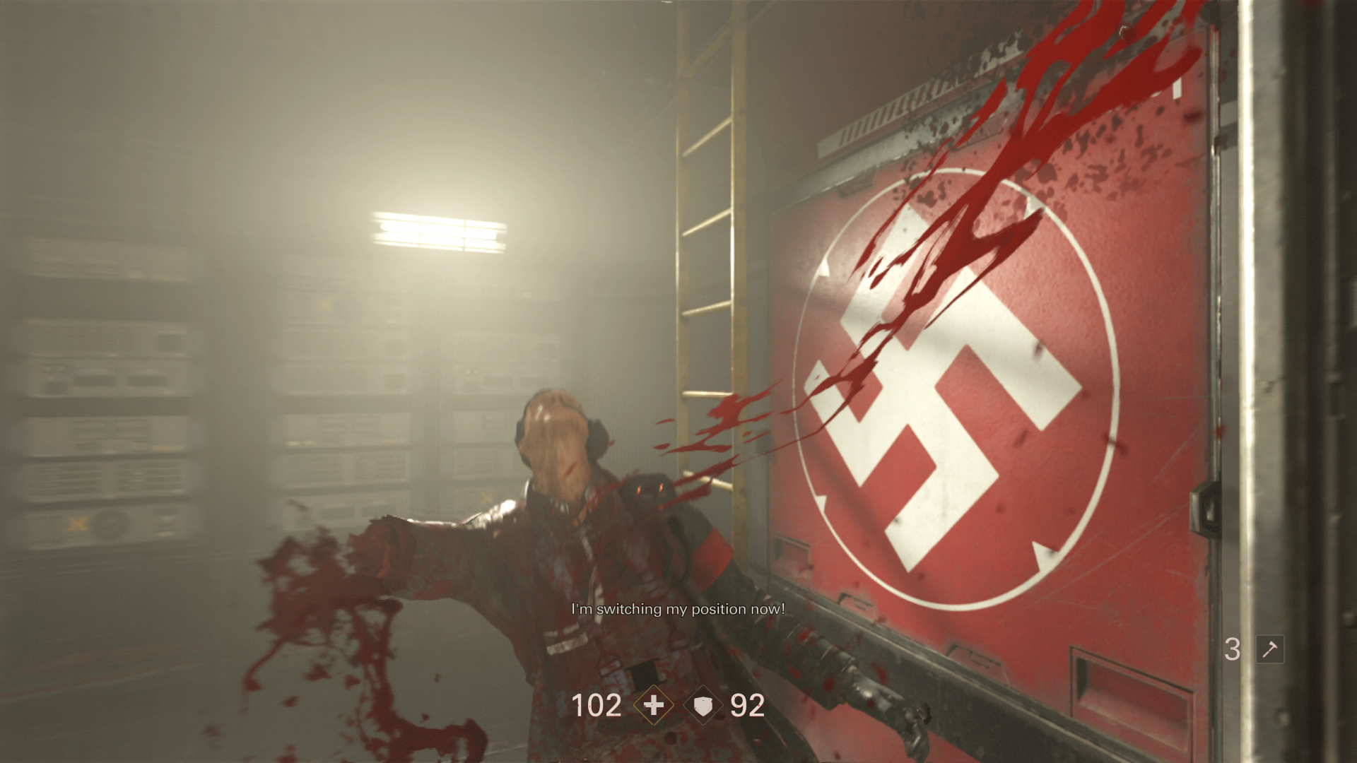 The Presence Of Overpowered Weaponry Would Be Pointless Without Some Sizeable Targets Wolfenstein Ii Doesnt Disappoint Here Either Often Putting