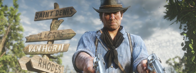 Red Dead Redemption 2 takes no 1 for the first time in 2019 – Games
