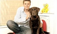 Jake Humphrey with Dyliss