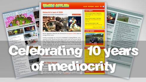 Celebrating 10 years of mediocrity