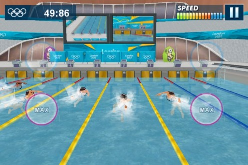 London 2012 – Official Mobile Game: Swimming