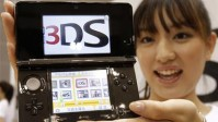 Nintendo 3DS and Japanese lady's face