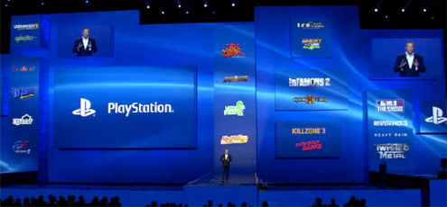 Sony E3 conference