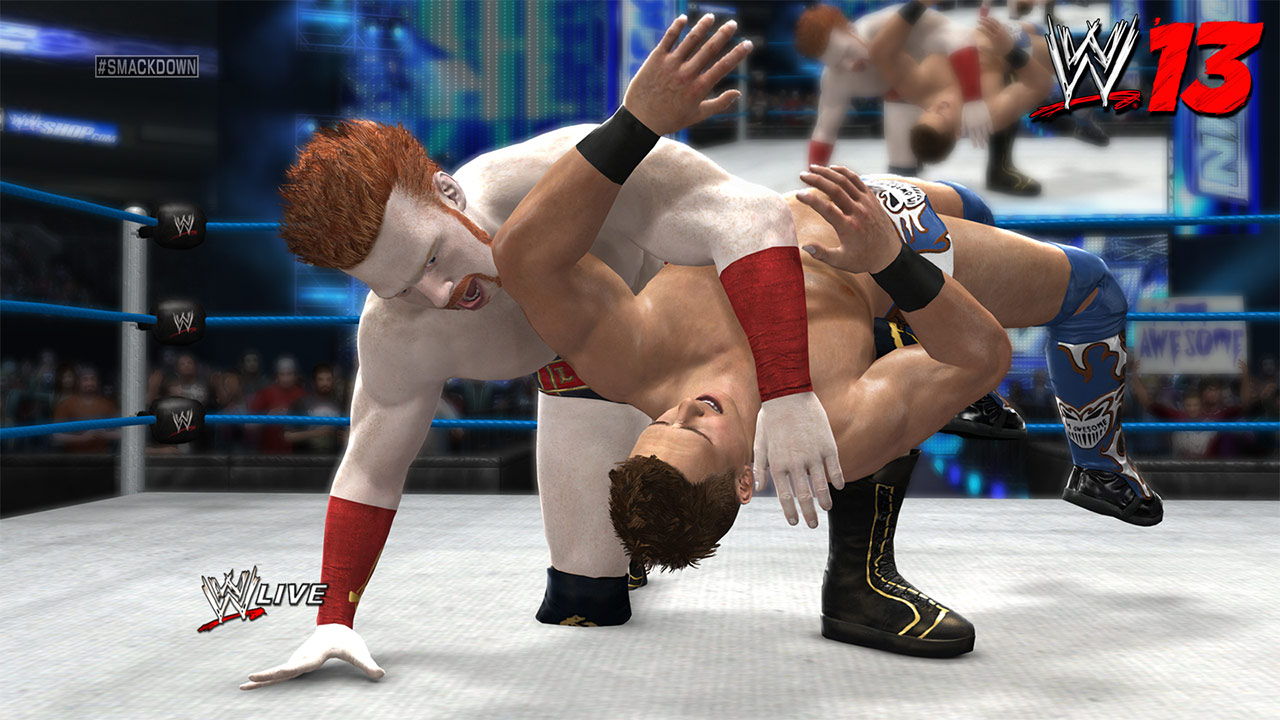 THQ's WWE games – SmackDown! and out