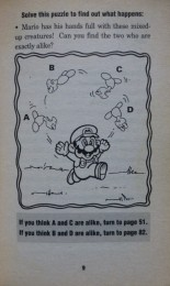 Nintendo Adventure Books: page