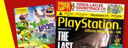 Gettin' jiggy with it – this month's OPM comes with a Yooka-Laylee soundtrack CD