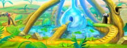 Ever Oasis – cool and inviting