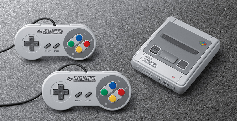 Power in the palm of your hand – Super Nintendo Classic Mini