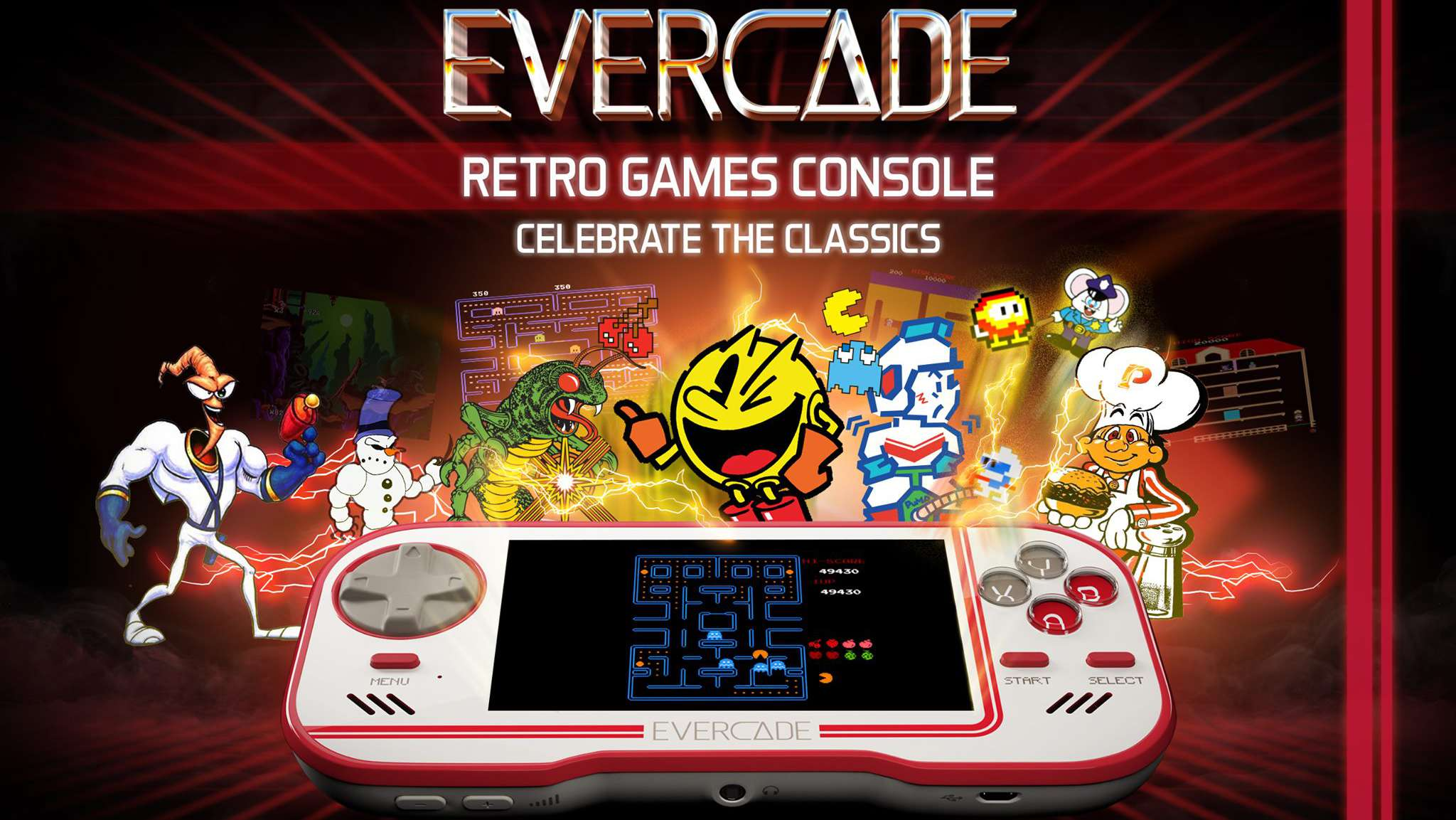 Five reasons to be excited about the Evercade handheld