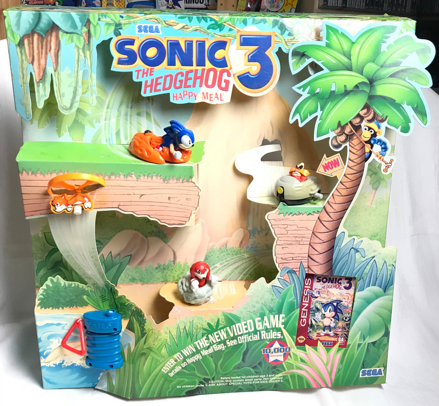 Twenty Five Years Ago To This Very Month Sonic Happy Meal Toys